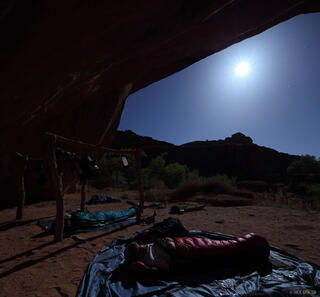 Escalante, Utah, campsite, alcove, Glen Canyon National Recreation Area