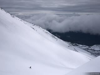 Mt. Saint Helens, Washington, skiing, ski