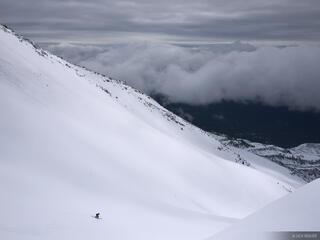 Mt. Saint Helens, Washington, skiing, ski