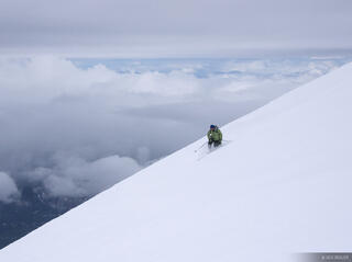Mt. Saint Helens, Washington, Mount Saint Helens, skiing