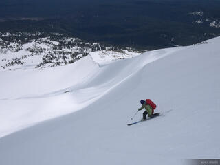 Mt. Adams, Washington, Mount Adams, skiing
