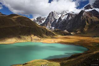 Cordillera Huayhuash, Peru, Laguna Carhuacocha