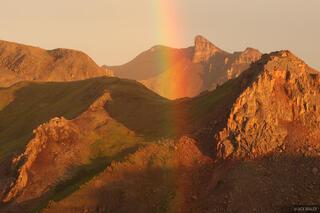 rainbow, Uncompahgre Wilderness, San Juan Mountains, Colorado