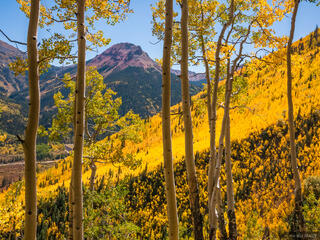 Red Mountain Pass, autumn, aspens, San Juan Mountains, Colorado