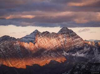 Maroon Bells, sunset, fourteeners, Elk Mountains, Colorado, Maroon Bells-Snowmass Wilderness