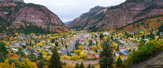 Ouray Autumn Panorama