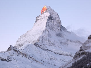 Matterhorn, Switzerland, Zermatt, sunrise
