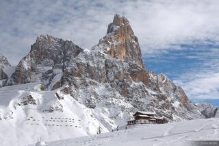Cimon della Pala, Dolomites,Europe,Italy,San Martino, Passo Rolle