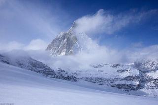 Matterhorn, Zermatt, Switzerland, clouds