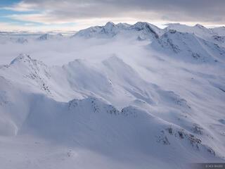 Obergurgl, Austria, snowy, clouds, December, , Ötztal Alps, Alps