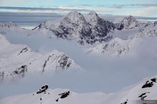 Obergurgl, Austria, clouds, , Ötztal Alps, Alps