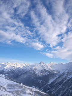 Mayrhofen, Austria, December, Alps