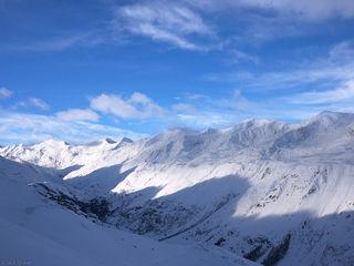 Obergurgl, Austria, December, winter, alps, europe, Ötztal Alps