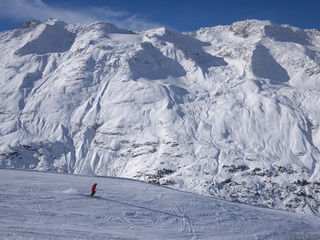 Obergurgl, Austria, skier, Alps