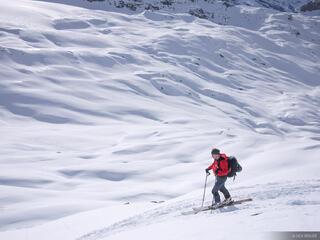 Griessental, Switzerland, skiing