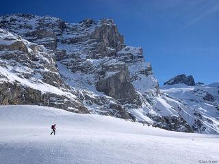 Schlossberg, Switzerland, snowshoeing