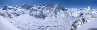 Gornergletscher Panorama