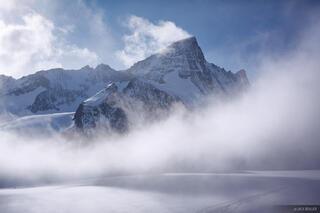Grünhorn,  Walliser Fiescherfirn, glacier, Berner Oberland, Switzerland