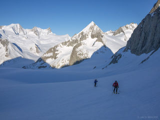Bernese Oberland, Switzerland, skinning