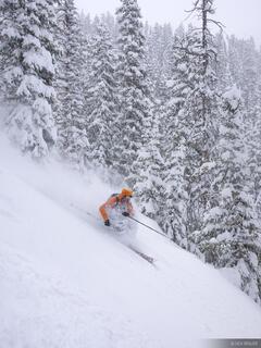 skiing, powder, May, San Juan Mountains, Colorado
