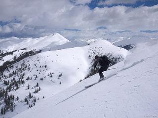 skiing, powder, San Juan Mountains, Colorado, May