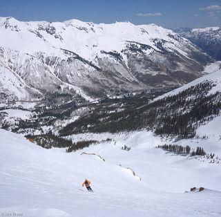skiing, San Juans, Colorado, May