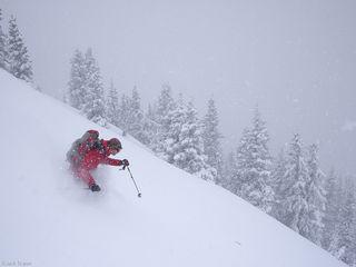 powder, skiing, May, San Juans, Colorado