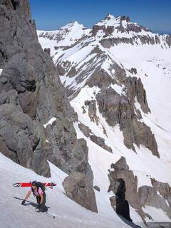 Climbing Potosi Peak