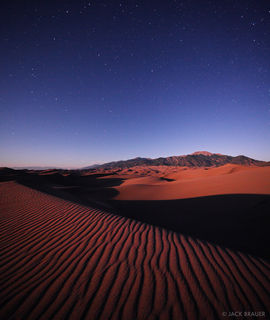 Great Sand Dunes, Colorado, moonshine