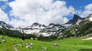 Middle Fork, Uncompahgre Wilderness, Cimarrons, Coxcomb Peak, hiking, Colorado