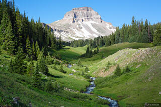 Uncompahgre Peak, Big Blue Creek, San Juan Mountains, Colorado