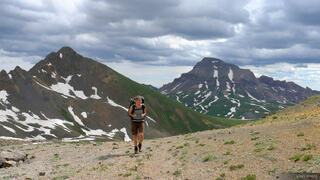 Hiking from Uncompahgre