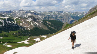 Coxcomb Pass, San Juan Mountains, Colorado, hiking