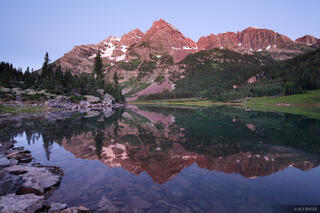 Crater Lake, Maroon Bells, Elk Mountains, Colorado, reflection, Maroon Bells-Snowmass Wilderness