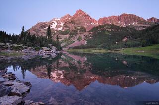 Crater Lake, Maroon Bells, Elk Mountains, Colorado, reflection, Maroon Bells-Snowmass Wilderness
