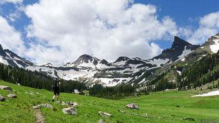 Middle Fork, Uncompahgre Wilderness, Cimarrons, Coxcomb Peak, hiking, Colorado