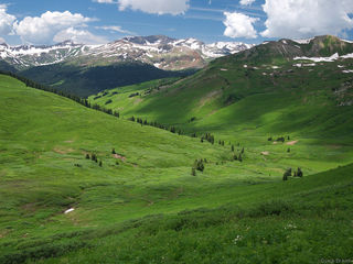 Purity Basin, Elk Mountains, Colorado, West Maroon Pass, July, Maroon Bells-Snowmass Wilderness