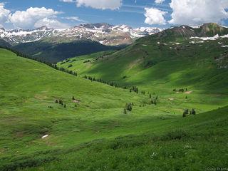 Purity Basin, Elk Mountains, Colorado, West Maroon Pass, July, Maroon Bells-Snowmass Wilderness