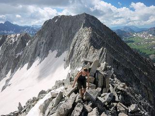 Snowmass Mountain, Elk Mountains, Colorado, ridge, Maroon Bells-Snowmass Wilderness