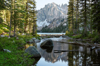 Baron Lake, Monte Verita, Sawtooth Mountains, Idaho