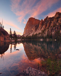 Elephant's Perch, Sawtooth Mountains, Idaho, sunset
