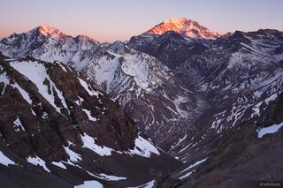 Aconcagua,Argentina,South America, Rio Horcones, Andes