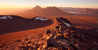Cerro Toco, Atacama, Chile, sunset