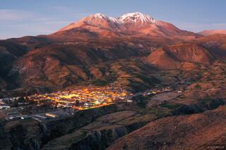 Putre, Chile, Cerro de Tarapac