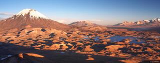 Chile, Parinacota, Parque Nacional Lauca, South America, volcano