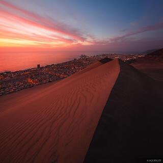 Cerro Dragon, Iquique, Chile, dune