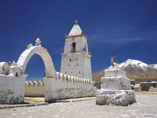 Isluga, Northern Chile, Iglesia, church, altiplano