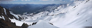 Chile, South America, Valle de Aguas Calientes, Termas de Chillán