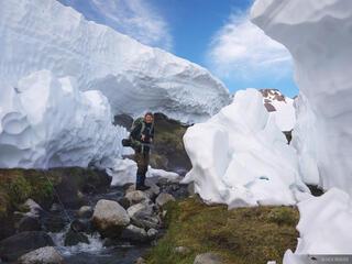 Aguas Calientes Snowbank