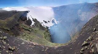 Volcan Villarica Crater